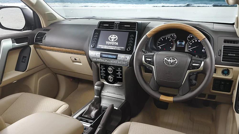 noi that xe toyota land cruiser prado 2021 toyotalongphuoc vn - Toyota Prado