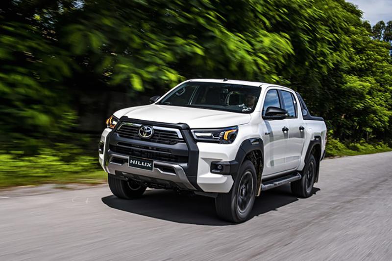 lai thu xe toyota hilux 2021 toyota long phuoc - Toyota Hilux