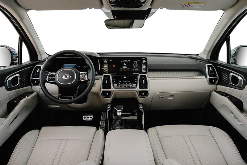 noi that kia sorento 2021 signature 6 cho may xang muaxegiatot vn - So sánh Toyota Fortuner 2021 và Kia Sorento 2021: Kẻ tám lạng người nửa cân