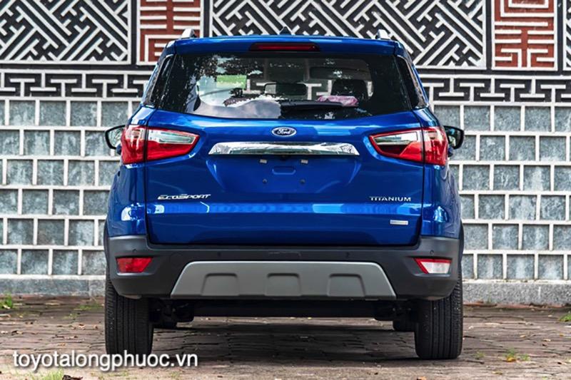 duoi xe ford ecosport 2021 toyotalongphuoc vn 1 - Đánh giá xe Ford Ecosport 2021 - SUV dành cho đô thị