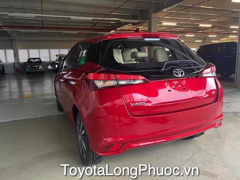 duoi xe toyota yaris 2021 toyota tan cang toyotalongphuoc vn 7 - Toyota Yaris
