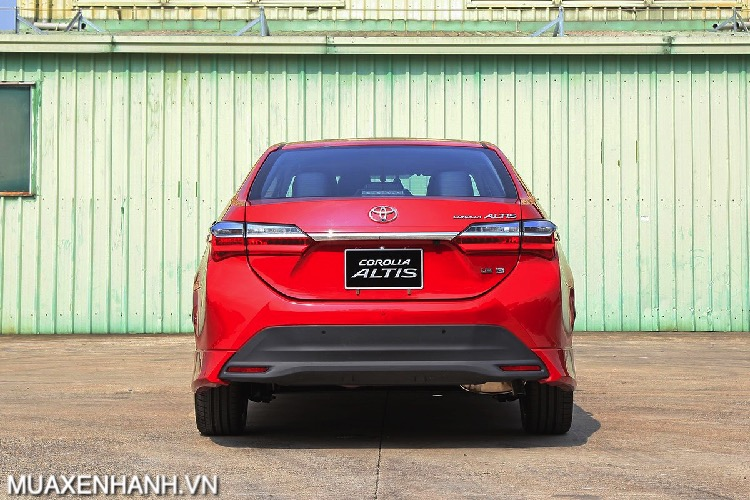 duoi xe toyota corolla altis 2021 toyotalongphuoc vn - Toyota Altis
