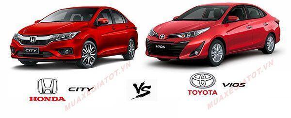 so sanh city va vios 2019 muaxegiatot vn e1565523109398 - Nên mua xe Honda City 2021 hay Toyota Vios 2021 mới?