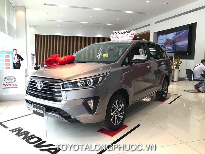 Danh gia xe Toyota Innova 2.0G 2021 toyotalongphuoc vn - Toyota Innova