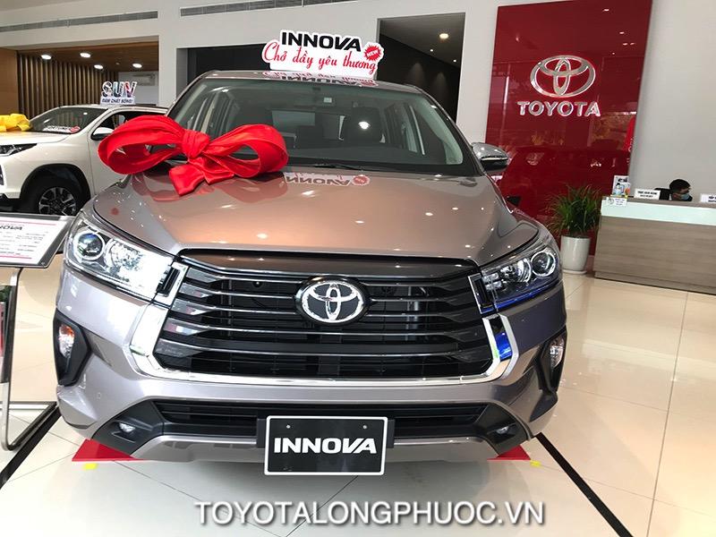Dau xe Toyota Innova 2.0G 2021 toyotalongphuoc vn - Toyota Innova