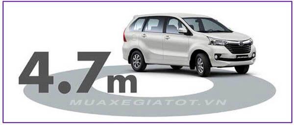 ban kinh vong quay toyota avanza 2021 sanxeoto vn - Toyota Avanza
