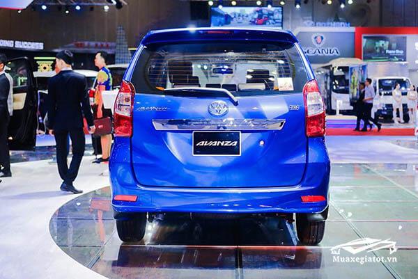 duoi xe toyota avanza 2021 sanxeoto vn - Toyota Avanza