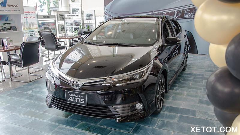 gia xe toyota altis 2021 muaxe net - Bảng giá các dòng xe Toyota mới nhất 2021
