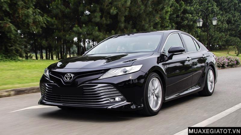 gia xe toyota camry 2021 muaxe net - Bảng giá các dòng xe Toyota mới nhất 2021