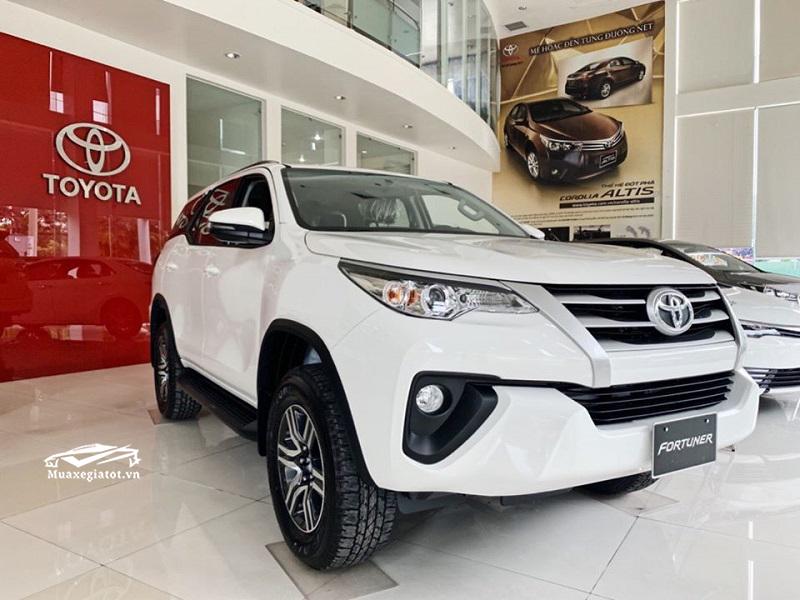 gia xe toyota fortuner 2021 muaxe net - Bảng giá các dòng xe Toyota mới nhất 2021