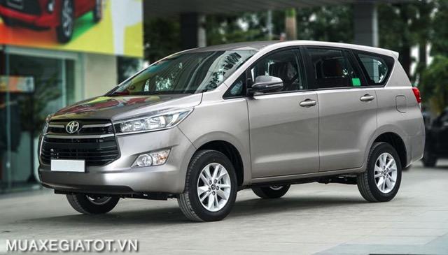 gia xe toyota innova 2021 muaxe net - Bảng giá các dòng xe Toyota mới nhất 2021