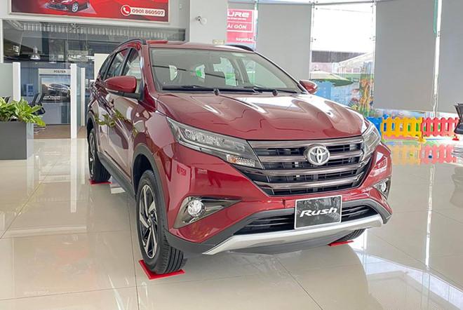 gia xe toyota rush 2021 muaxe net - Bảng giá các dòng xe Toyota mới nhất 2021