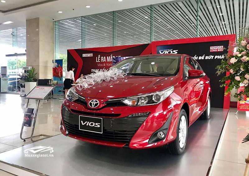 gia xe toyota vios 2021 muaxe net - Bảng giá các dòng xe Toyota mới nhất 2021