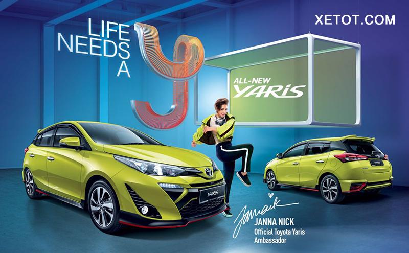 gia xe toyota yaris 2021 muaxe net - Bảng giá các dòng xe Toyota mới nhất 2021