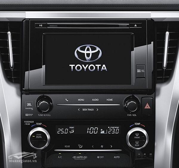 he thong giai tri toyota alphard 2019 muaxegiatot vn 1 - Toyota Alphard