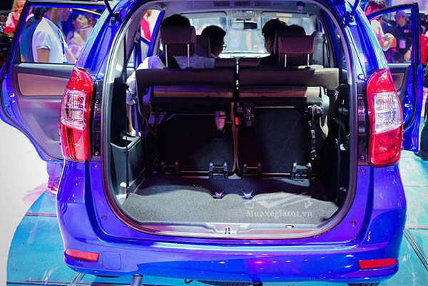 khoang hanh ly toyota avanza 2021 sanxeoto vn - Toyota Avanza