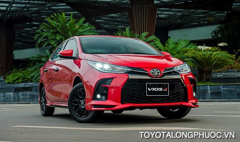 Gia xe Toyota Vios GR S 2021 toyotalongphuoc vn - So sánh Toyota Vios GR-S 2021 và Honda City RS 2021: Cạnh tranh khốc liệt trong phiên bản mới