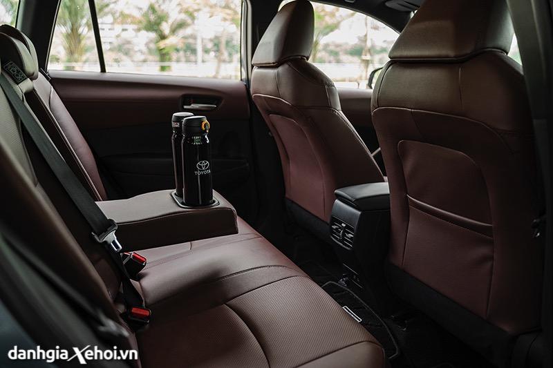 Hang ghe thu 2 co cua gio Toyota Corolla Cross 2021 1 8V toyotalongphuoc vn 2 - Toyota Corolla Cross