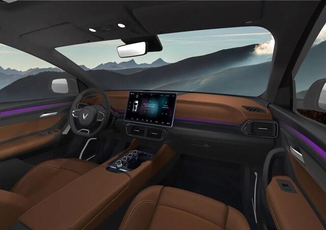Phac thao Vinfast VF32 noi that xe giaxehoi vn - Nên mua Corolla Cross Hybrid hay chờ xe điện Vinfast VF32?