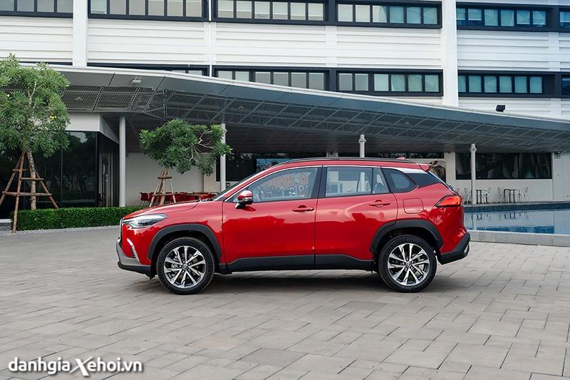 Than xe Toyota Corolla Cross 2021 1 8V toyotalongphuoc vn 2 - Toyota Corolla Cross