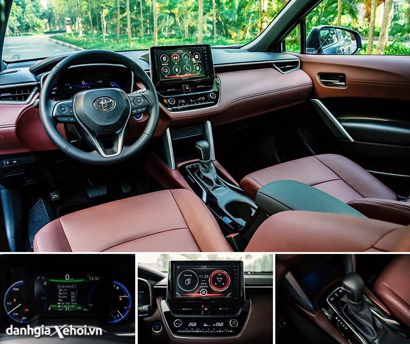 Tien nghi noi that Toyota Corolla Cross 2021 1 8V toyotalongphuoc vn 2 - Toyota Corolla Cross