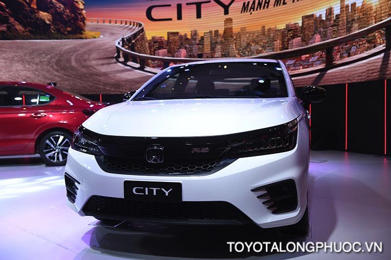 dau xe honda city rs 2021 toyotalongphuoc vn - So sánh Toyota Vios GR-S 2021 và Honda City RS 2021: Cạnh tranh khốc liệt trong phiên bản mới
