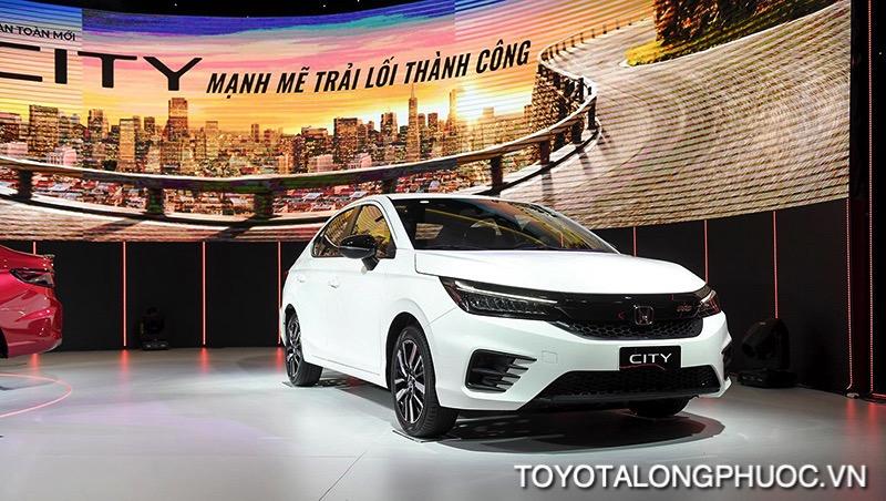gia xe honda city rs 2021 toyotalongphuoc vn - So sánh nhanh Vios, Accent, City với tầm giá lăn bánh 600 triệu nên mua xe nào?