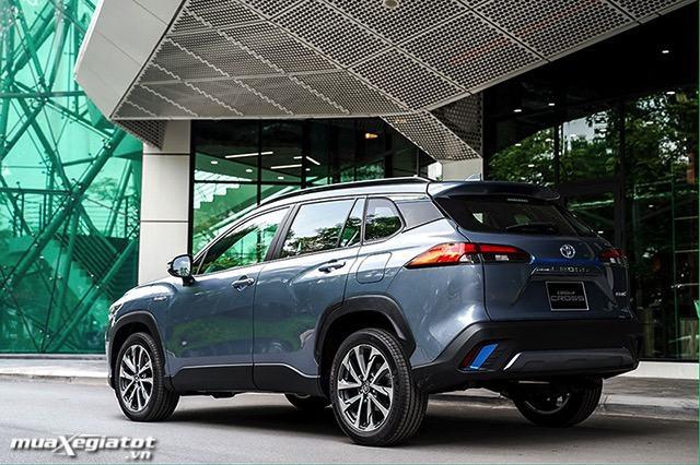 hong xe toyota corolla cross 18hv 2021 hybrid toyotalongphuoc vn - Nên mua Corolla Cross Hybrid hay chờ xe điện Vinfast VF32?
