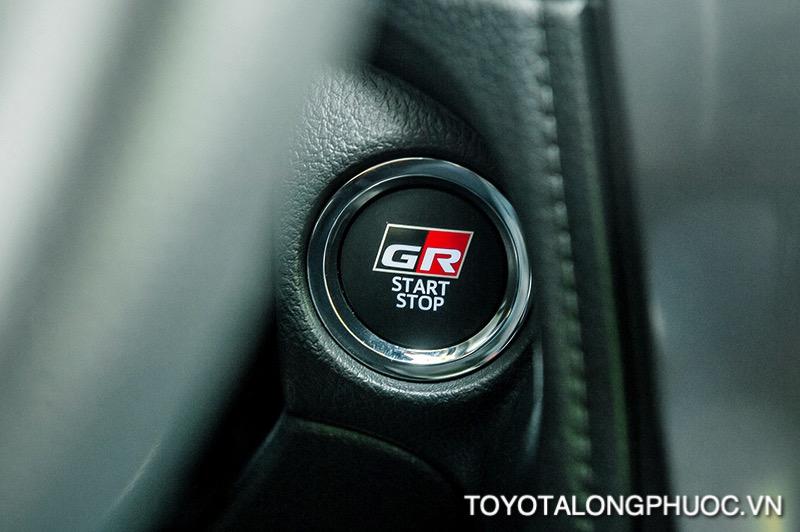 nut bam khoi dong xe Toyota Vios GR S 2021 toyotalongphuoc vn - So sánh Toyota Vios GR-S 2021 và Honda City RS 2021: Cạnh tranh khốc liệt trong phiên bản mới