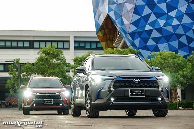 van hanh toyota corolla cross 18hv 2021 hybrid toyotalongphuoc vn - Nên mua Corolla Cross Hybrid hay chờ xe điện Vinfast VF32?