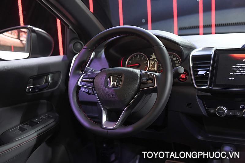 vo lang honda city rs 2021 toyotalongphuoc vn - So sánh Toyota Vios GR-S 2021 và Honda City RS 2021: Cạnh tranh khốc liệt trong phiên bản mới