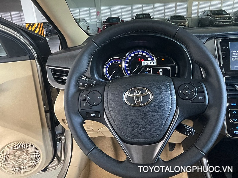 vo lang xe toyota vios 2021 ban 15G toyota tan cang toyotalongphuoc vn 12 1 - Đánh giá Toyota Vios G 2021: Sự đột phá trong thiết kế cùng sự vận hành