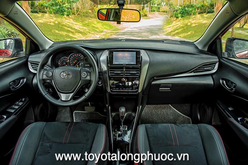 Noi that xe Toyota Vios GR S 2021 Toyotalongphuoc vn - Đánh giá Toyota Vios GR-S 2021: Phiên bản thể thao cực hấp dẫn