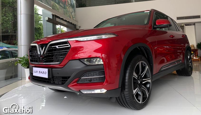 dau xe vinfast lux sa2.0 2021 vinfastpro vn - So sánh Vinfast Lux SA 2.0 và Toyota Fortuner bản cao cấp có gì khác biệt?
