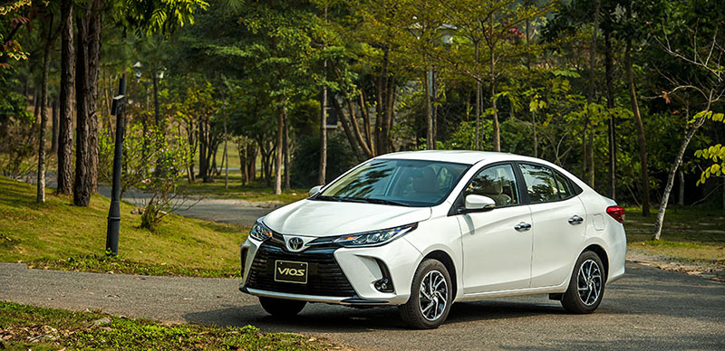 gia xe toyota vios 15e cvt 2021 7 tui khi toyotalongphuoc vn - Đánh giá xe Toyota Vios E CVT 2021 (7 túi khí): Mẫu xe gia đình hoàn hảo