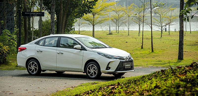 hong xe toyota vios 15e cvt 2021 7 tui khi toyotalongphuoc vn - Đánh giá xe Toyota Vios E CVT 2021 (7 túi khí): Mẫu xe gia đình hoàn hảo