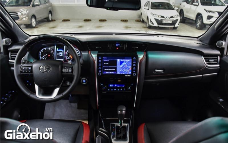 khoang lai toyota fortuner legender 2 4at 2021 toyotalongphuoc vn - Chi tiết Toyota Fortuner Legender 2.4 AT 4x2 2021: Cải tiến mới về ngoại thất cùng tính năng vận hành