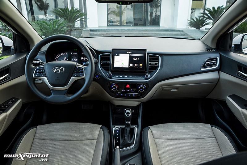 khoang lai xe hyundai accent 2021 Toyotalongphuoc vn 6 - Toyota Vios GR-S và Hyundai Accent bản đặc biệt: Chênh lệch gần 100 triệu đồng cùng trải nghiệm có được