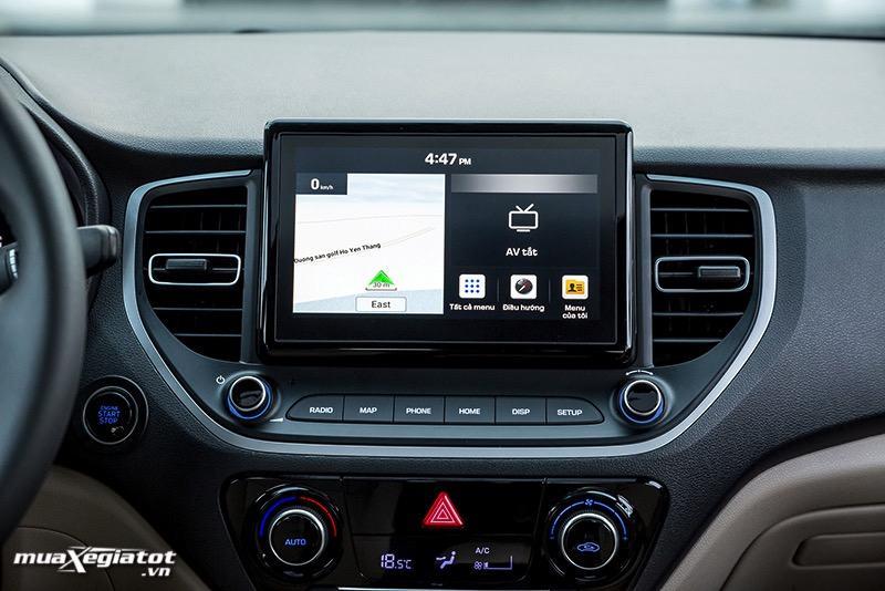 man hinh cam ung xe hyundai accent 2021 Toyotalongphuoc vn 4 - Toyota Vios GR-S và Hyundai Accent bản đặc biệt: Chênh lệch gần 100 triệu đồng cùng trải nghiệm có được