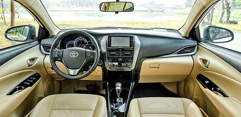 noi that xe toyota vios 15e cvt 2021 7 tui khi toyotalongphuoc vn - Đánh giá xe Toyota Vios E CVT 2021 (7 túi khí): Mẫu xe gia đình hoàn hảo