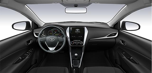 noi that xe toyota vios e mt 2021 toyotalongphuoc vn - Đánh giá Toyota Vios E MT 2021 7 túi khí: Mẫu xe chạy dịch vụ tiết kiệm, bền bỉ, an toàn
