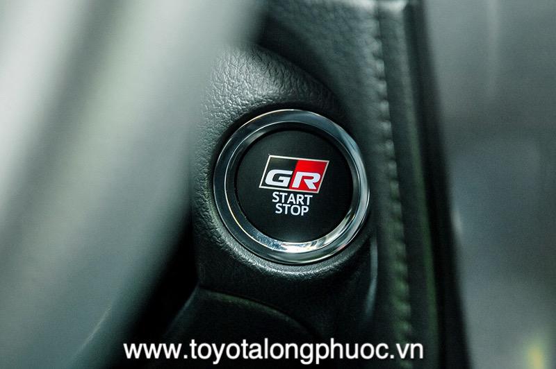 nut bam khoi dong xe Toyota Vios GR S 2021 Toyotalongphuoc vn - Đánh giá Toyota Vios GR-S 2021: Phiên bản thể thao cực hấp dẫn