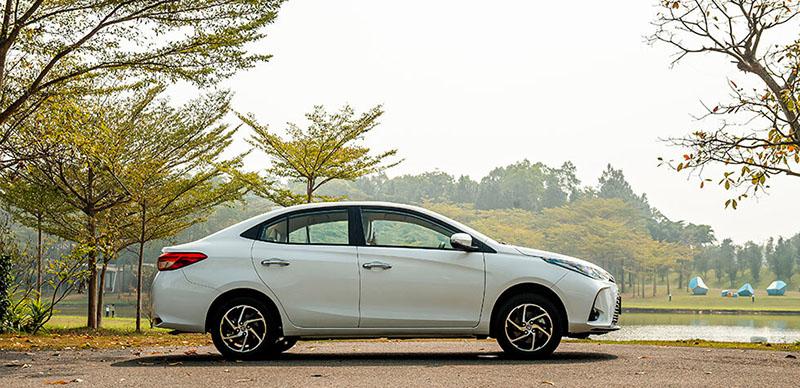 than xe toyota vios 15e cvt 2021 7 tui khi toyotalongphuoc vn - Đánh giá xe Toyota Vios E CVT 2021 (7 túi khí): Mẫu xe gia đình hoàn hảo