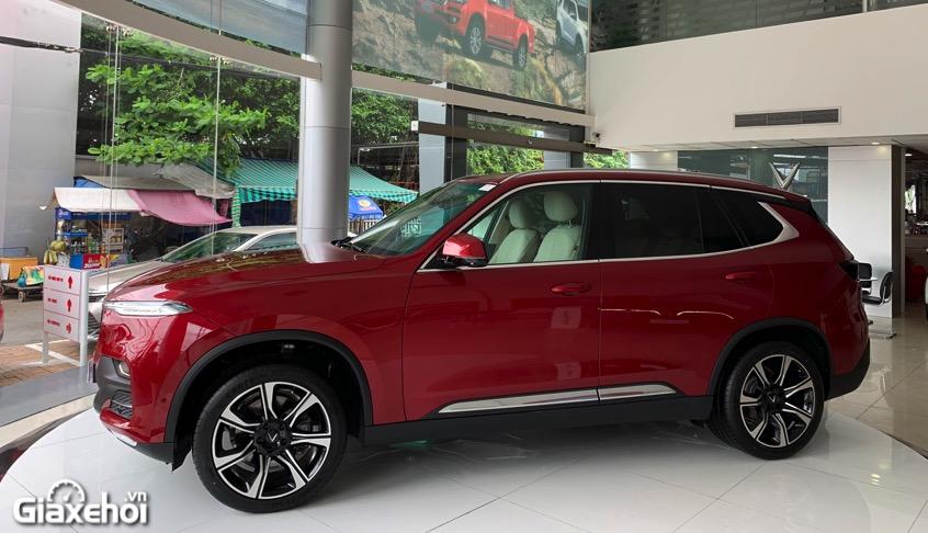 than xe vinfast lux sa2.0 2021 vinfastpro vn - So sánh Vinfast Lux SA 2.0 và Toyota Fortuner bản cao cấp có gì khác biệt?
