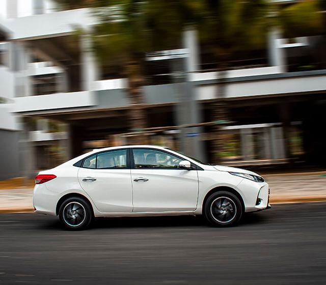 van hanh toyota vios e mt 2021 toyotalongphuoc vn - Đánh giá Toyota Vios E MT 2021 7 túi khí: Mẫu xe chạy dịch vụ tiết kiệm, bền bỉ, an toàn