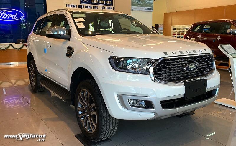 """gia xe ford everest 2021 titanium 4wd at bi turbo muaxegiatot vn - Đánh giá xe Ford Everest 2022, Xe 7 chỗ khiến Fortuner """"hít khói"""""""