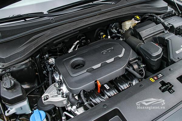 dong co xe hyundai santafe 2019 muaxenhanh vn 30 - Đánh giá xe Hyundai SantaFe 2021, Xe SUV 7 chỗ đang từng bước lật đổ thế lực Fortuner