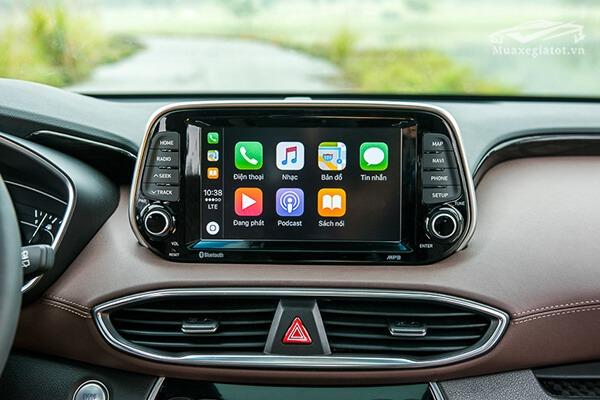 dvd hyundai santafe 2019 muaxenhanh vn 19 - Đánh giá xe Hyundai SantaFe 2021, Xe SUV 7 chỗ đang từng bước lật đổ thế lực Fortuner