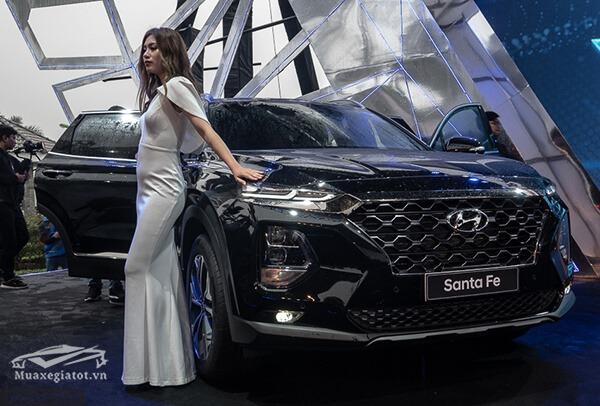 ra mat hyundai santafe 2019 muaxenhanh vn 31 - Đánh giá xe Hyundai SantaFe 2021, Xe SUV 7 chỗ đang từng bước lật đổ thế lực Fortuner