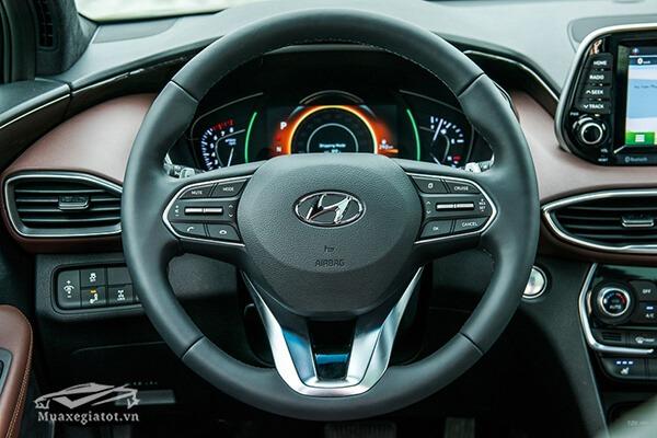vo lang xe hyundai santafe 2019 muaxenhanh vn 13 - Đánh giá xe Hyundai SantaFe 2021, Xe SUV 7 chỗ đang từng bước lật đổ thế lực Fortuner